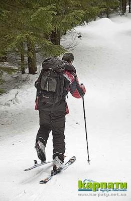 Скі-тур — лижі для мандрів