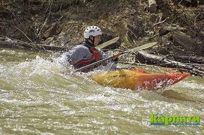 Ріки Карпат — дороги водного туризму