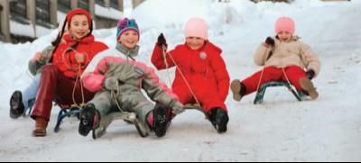 На лижах — у новий рік
