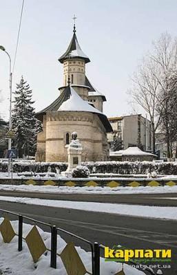 Фреска про румунську Буковину