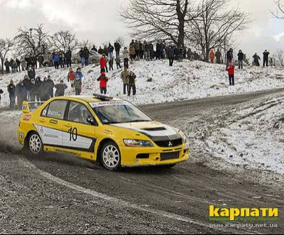 Автогонки почалися взимку