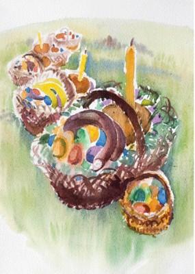 Черешня на Великдень розцвіла