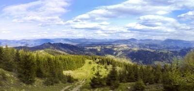 Гірськими межами областей